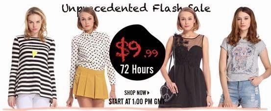 ROMWE Hottest & Biggest flash sale, let us become unique fashionista! http://marcelayz.wordpress.com/2014/04/30/romwe-hottest-biggest-flash-sale-let-us-become-unique-fashionista%e2%80%8f/