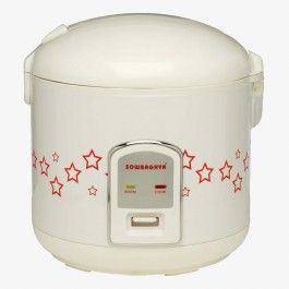 Sowbaghya Easy Cook 1.8 Litre Electric Rice Cooker for Holi offer sale online in India.
