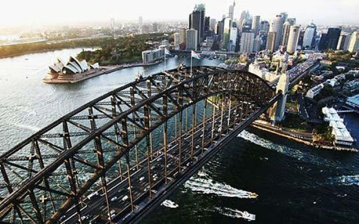 Sydney Harbour Bridge in Sydney, NSW
