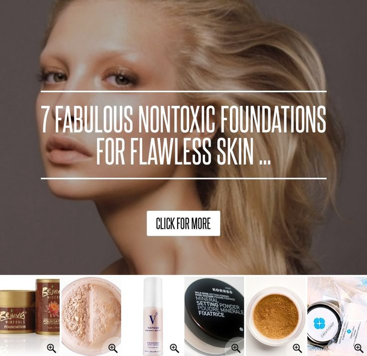 7. Vapour Organic Beauty Atmosphere Soft Focus Foundation - 7 Fabulous Nontoxic Foundations for Flawless Skin ... → Makeup