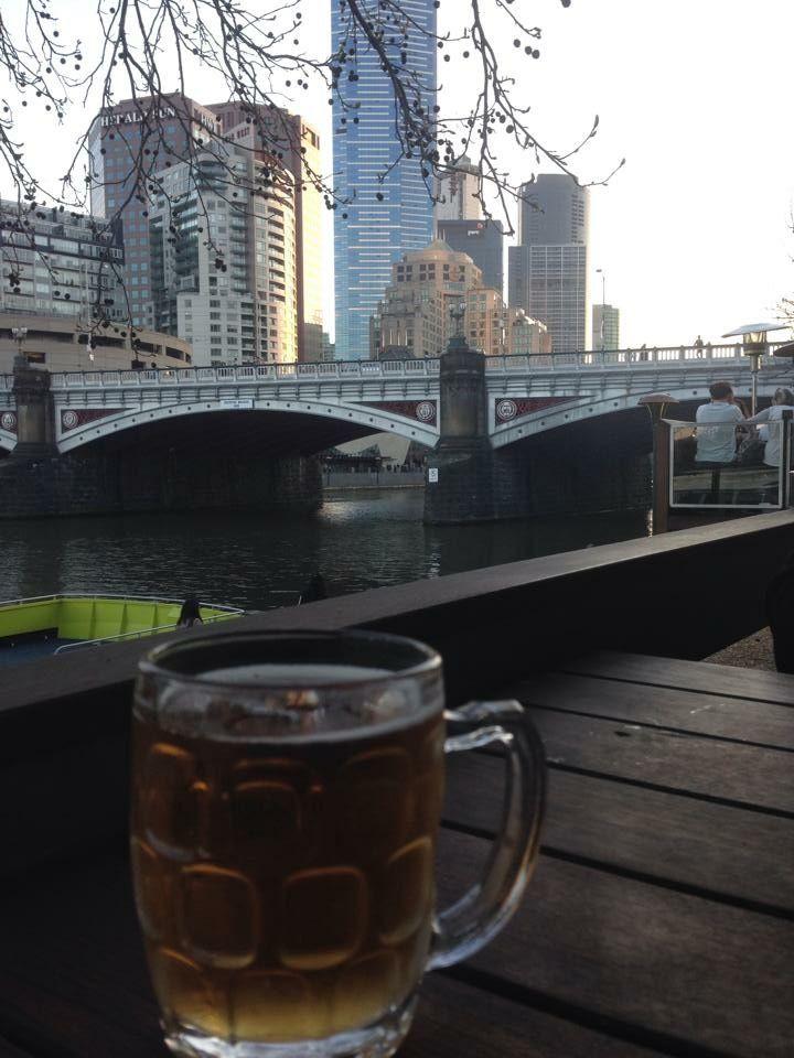 Yarra River. Melbourne