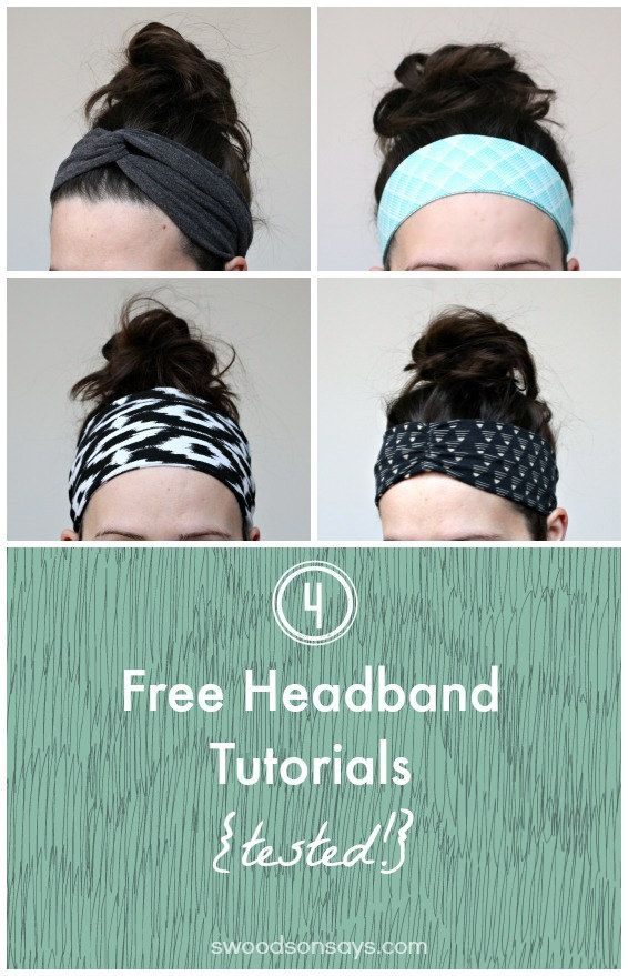 4 Free Headband Tutorials – Tested
