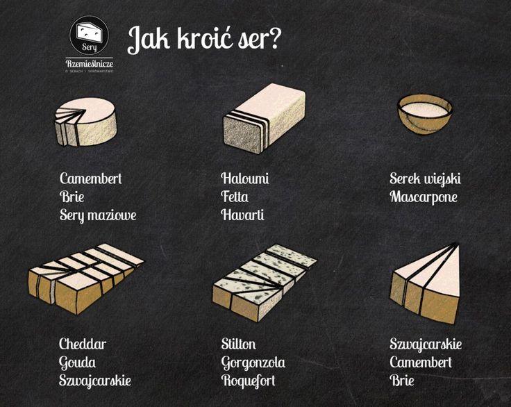 Jak kroić ser
