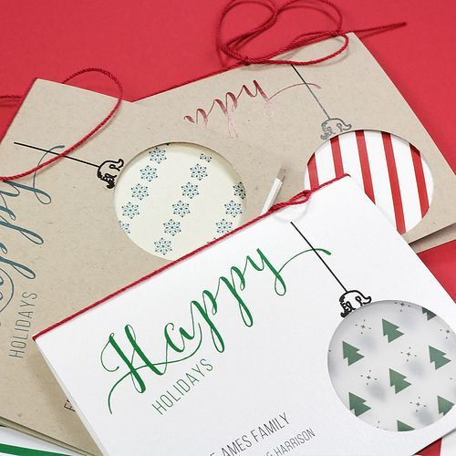 34 best greeting cards inspiration images on pinterest greeting diy holiday printables simple customizable ornament cutout cards m4hsunfo