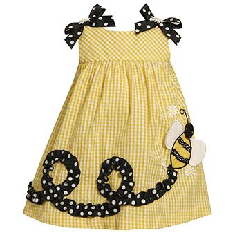 Cute idea for a little girls sundress for the summer. @Carrie Beth...your girls NEED dresses like this!