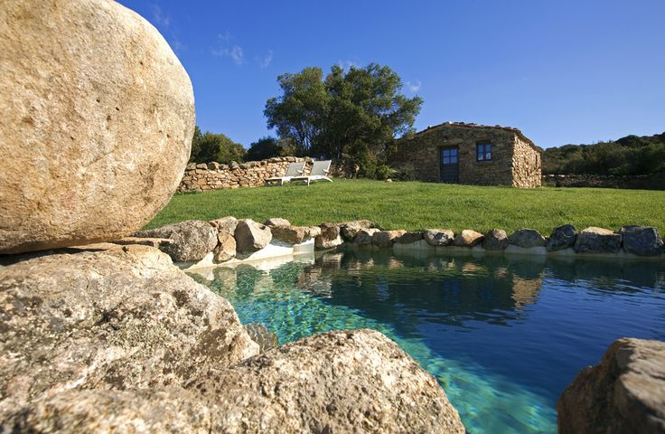 Bergerie Albizia, Corsica - Sleeps up to 2. Set in its own walled garden, just minutes away from the sea, this is a perfectly private, romantic retreat, with fine views from its hilltop in the unspoilt enclave of the Eden Estate.