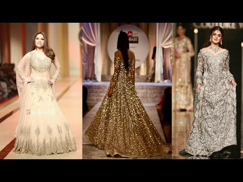 ac19bfe2ecd6 Top Stylish   latest Pakistani party wear Gowns Collection 2018-19 - YouTube