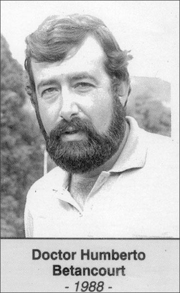 Doctor Humberto Betancourt 1988