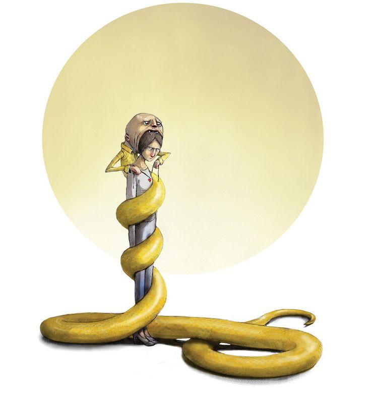 Om psykopaten i DBMagasinet Lisa Aisato - NORUEGA