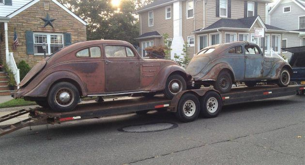 20% of the World's Population: Two 1934 Chrysler Airflow Coupes #Projects #Chrysler - http://barnfinds.com/20-worlds-population-two-1934-chrysler-airflow-coupes/