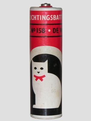 Witte kat batterij