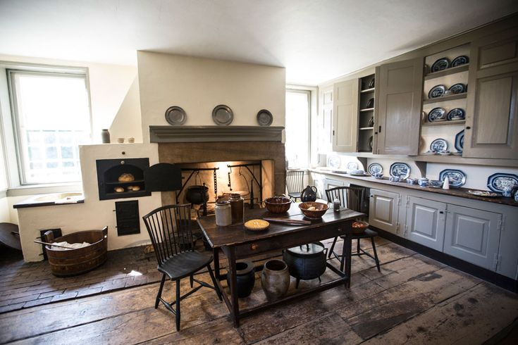 Cedar Grove Kitchen 1748 Fairmount Park Philadelphia