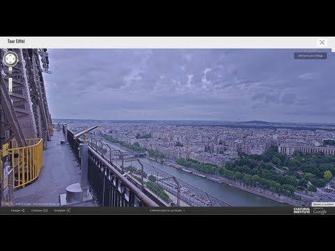 Google and the Eiffel Tower take you up 1000 feet : mashable - http://mashable.com/2013/07/16/google-street-view-eiffel-tower/  - #Paris  #googlestreetview