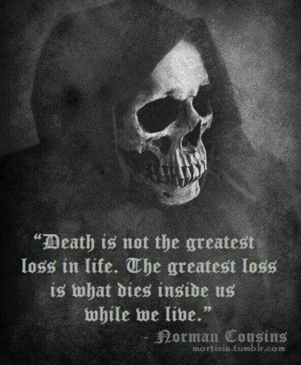Death loss in life