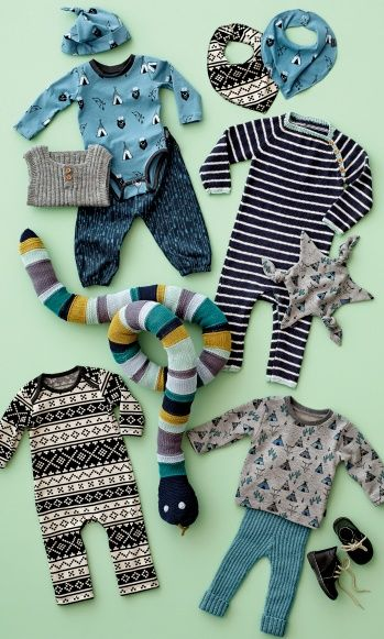 INSPIRATION for children's autumn wardrobe and accessories. STOF & STIL. DIY clothes.