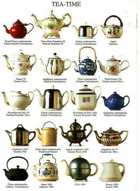 Tea pots, an obsession with me.