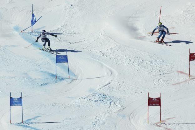 Ski alpin - Championnats du Monde - Les Bleus champions du monde par équipes à Saint-Moritz