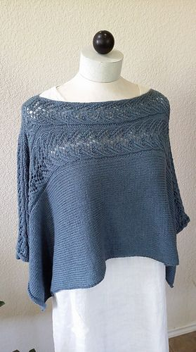 Granite Schoals by Martha Wissing   DK 22sts/4in   Can also be worn with lace…