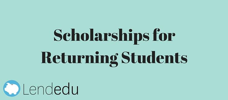Scholarships for Returning Students