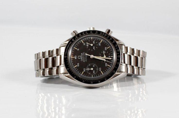Genuine Rare  vintage Omega Speedmaster  Automatic Chronograph Mens Watch  | eBay
