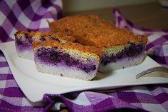 Cuketový chléb s borůvkami /Zucchini bread with blueberries/