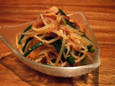日式叉燒豆芽辣味沙律