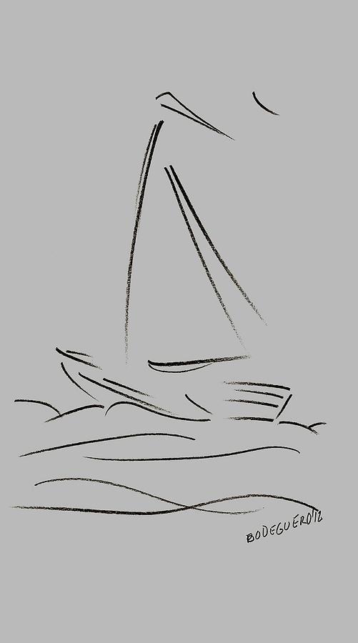 Sailboat #drawing