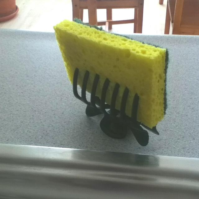 No more stinky sponges!