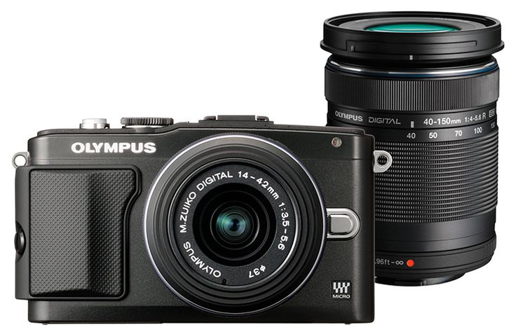 Olympus Dig. Camera EPL-5 14-42 & 40-150 - Compact cameras