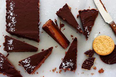 Zoet & Verleidelijk: Chocoladetaart met gezouten karamel