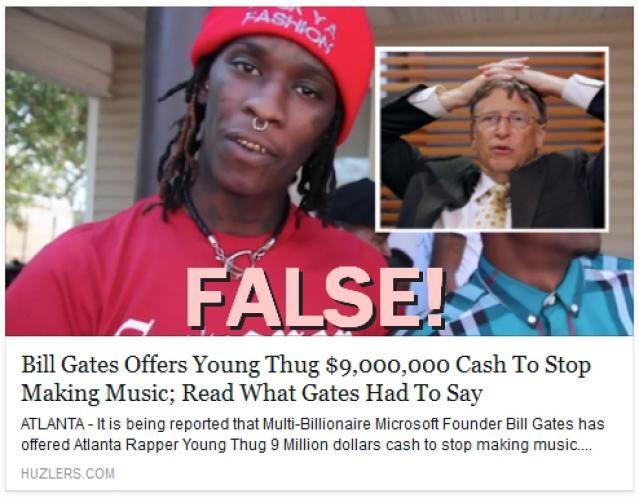 Did Bill Gates Pay Young Thug to Stop Making Music?