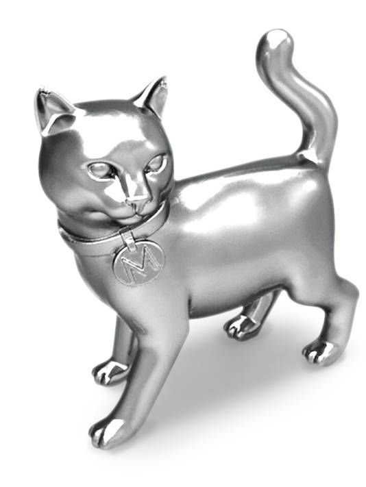 I guess cat-lovers felt left out. Monopoly let fans on the Internet choose a new token for the game.