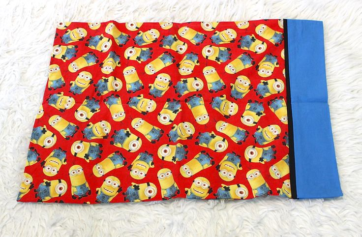 A personal favorite from my Etsy shop https://www.etsy.com/listing/526012166/despicable-me-minions-pillow-case
