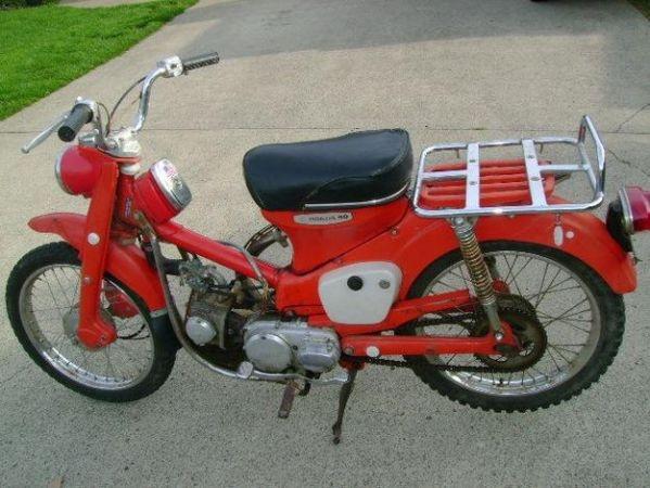 1968 Honda Ct90 Moped