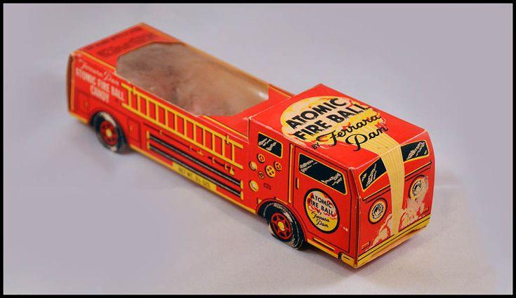 Ferrara Pan - Atomic Fire Ball - Candy 1975 Ferrara Pan Atomic Fire Ball Engine