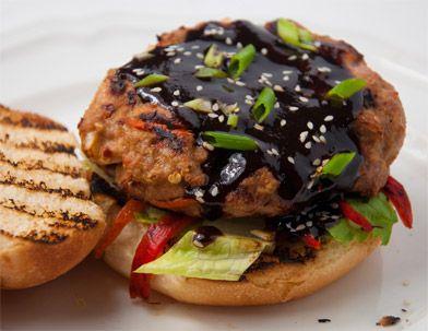 Mu Shu Pork is a Chinese restaurant classic. Here's a burger recipe ...