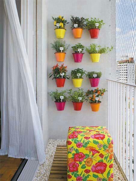 ¡Otorga color, y naturaleza a tu balcón, para que luzca con más vida!