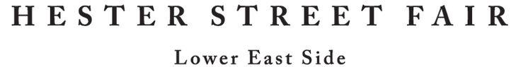 Hester Street Fair - Lower East Side