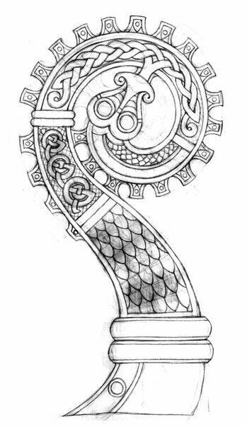 17 best images about leather tracing patterns celtic on pinterest viking dragon thors. Black Bedroom Furniture Sets. Home Design Ideas