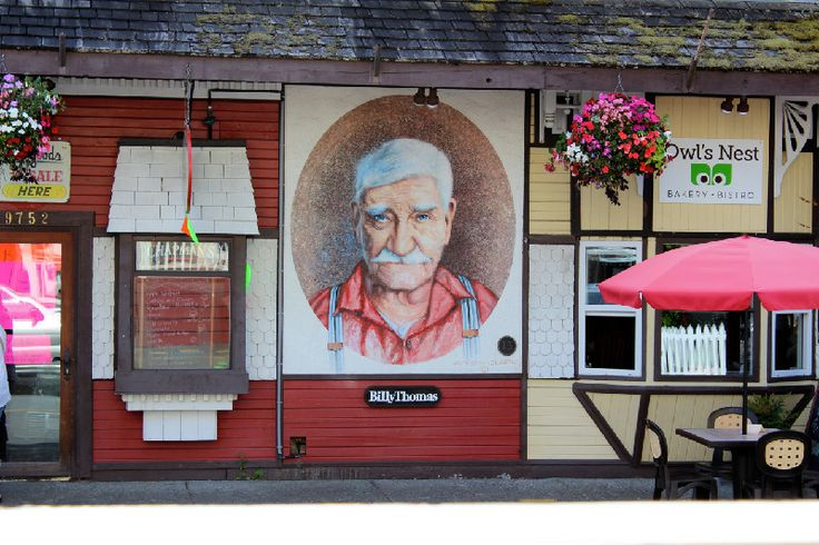 #Chemainus-famous for its many murals #VancouverIsland British Columbia breakpointtravelguides.wordpress.com