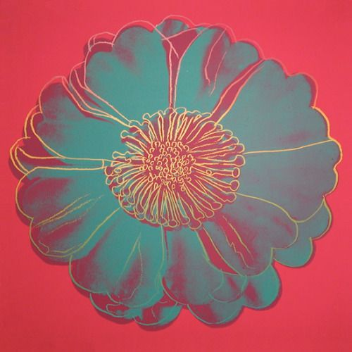Andy Warhol, Flower for Tacoma Dome, 1982