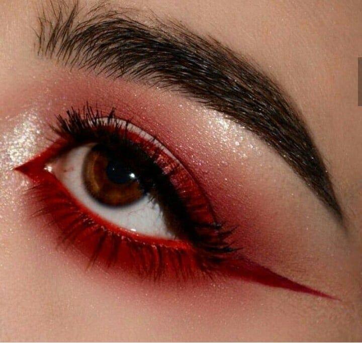 Eyeshadow Eye Eyebrows Eyeliner Makeup Aesthetic Grunge