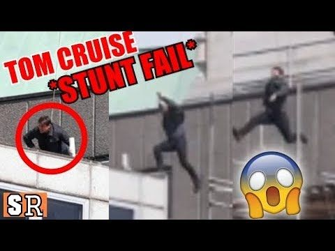 Tom Cruise Stunt Fail on Mission Impossible 6