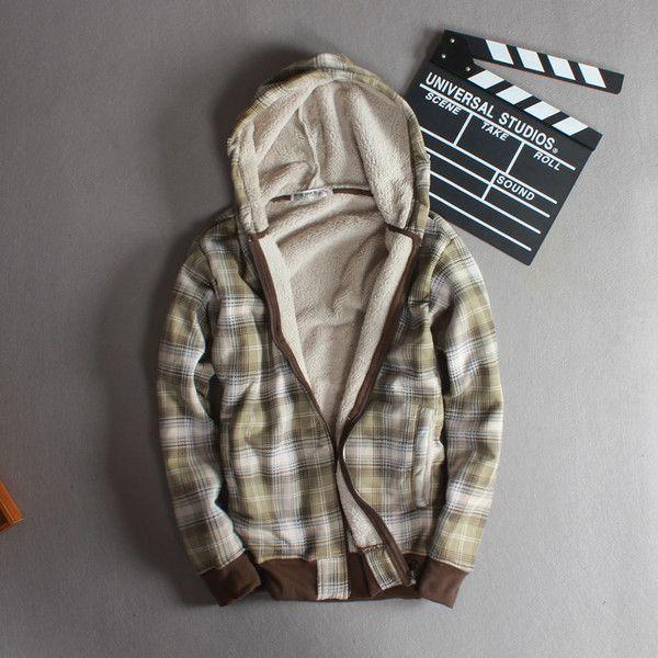 C-6-1 Мужские внешнеторговые ягнят шерсти мужской костюм пальто куртки хлеб студент плюс толстый бархат куртка молодых мужчин