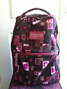 Jansport rolling Backpack!! Used for half a semester.  Like new only $20.00. Real deal and works!