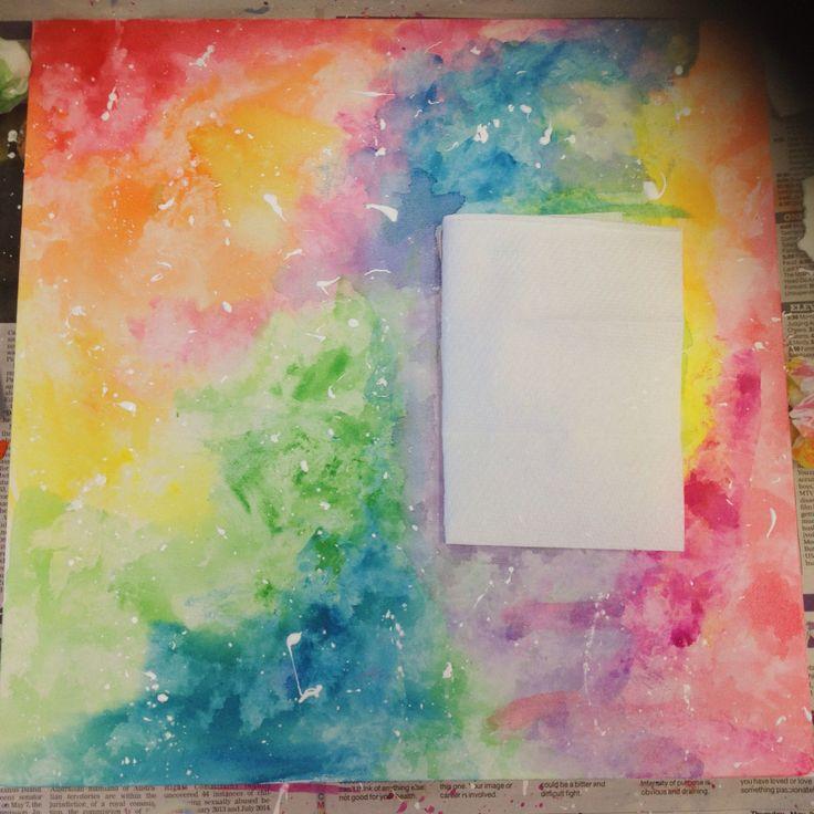 Watercolour Canvas