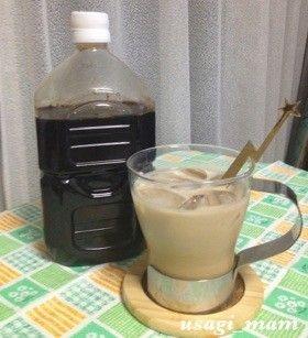 コーヒー シロップ 作り方