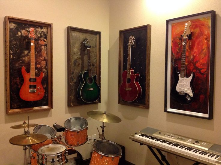 G Frames Quot Lake Of Fire Quot Guitar Or Bass Display Frame Or