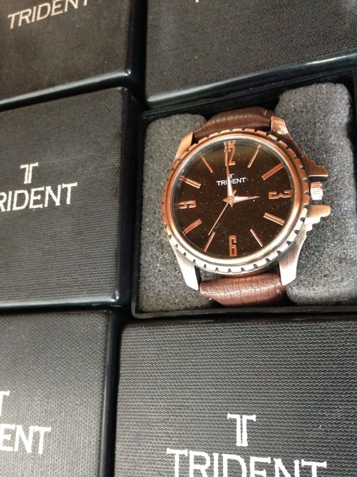 The new Trident Sacramento watch! Who wouldn't want to receive a gift like this? Find more watches like this at mytrident.co.za