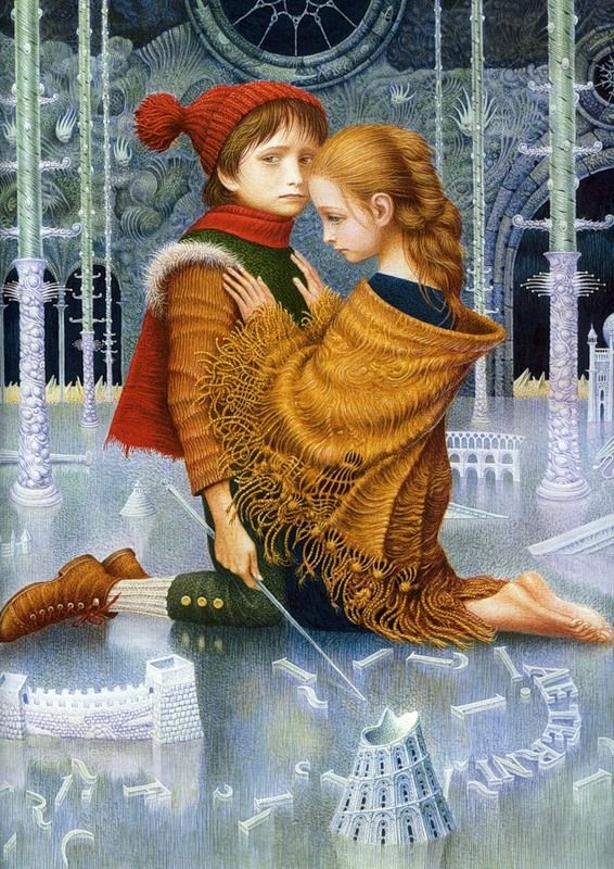 The Snow Queen by Vladislav Erko